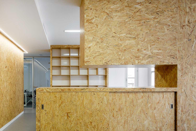 Diseño sede colegio psicólogos Aragón