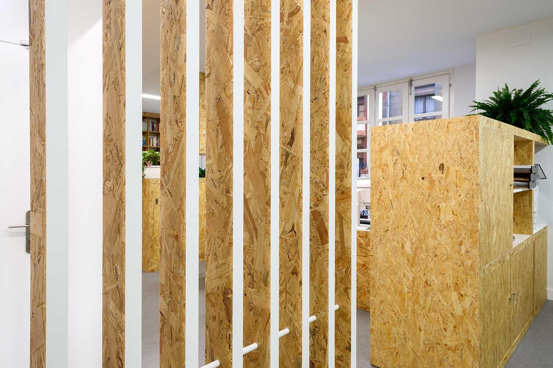 Diseño interior de sede colegio psicólogos Aragón