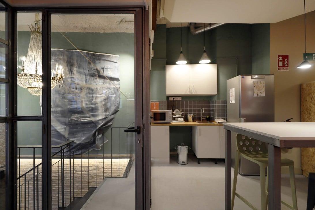 departamentos cristal, metal, muebles