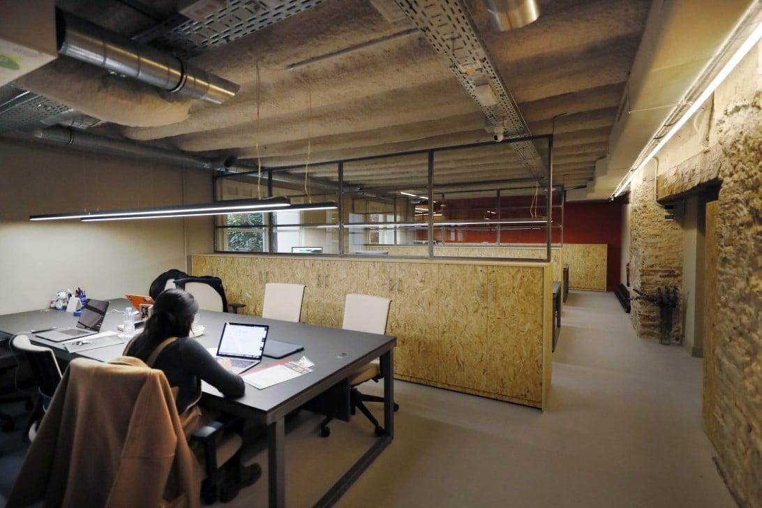 espacios de trabajo en Impacthub
